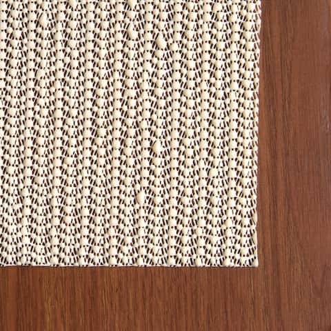 Con-Tact Brand Eco-Stay Non-slip Rug Pad (4' x 6') - Natural - 4' x 6'