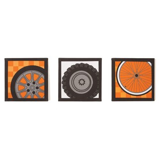 Teyo's Tires 3-piece Canvas Art