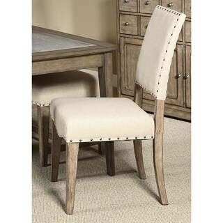 Weatherford Upholstered Nailhead Dining Chair