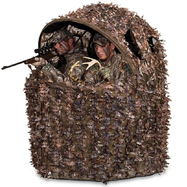 Ameristep Deluxe 2 Person Tent Chair Blind Realtree Xtra