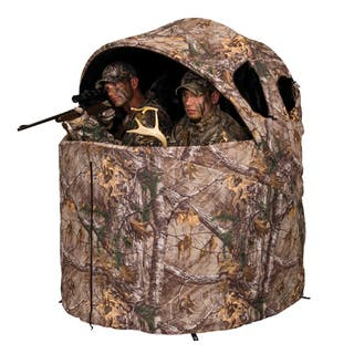 Ameristep Deluxe 2-Person Tent Chair Blind-Realtree Xtra|https://ak1.ostkcdn.com/images/products/9191013/P16364373.jpg?impolicy=medium