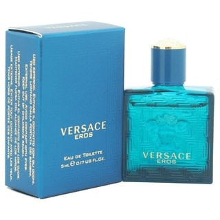 Versace Eros Men's 0.17-ounce Eau de Toilette Splash (Mini)