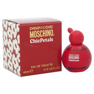 Moschino Cheap And Chic Chic Petals Women's 0.16-ounce Eau de Toilette Splash (Mini)