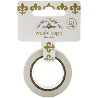 Washi Tape 15mmX12yd-Fleur De Lis