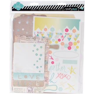 Dreamy Memory Files Kit-Fotostack Booklet, 4 Files & Stickers