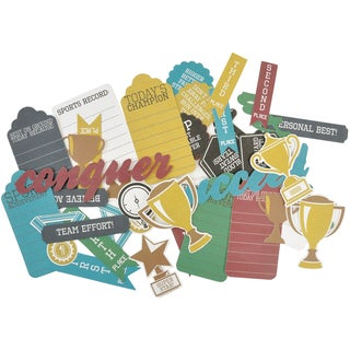 Game On! Collectables Cardstock Die-Cuts-Awards