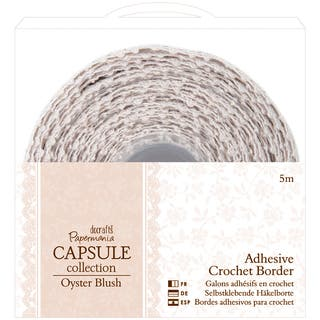 Papermania Oyster Blush Adhesive Crochet Border-5m|https://ak1.ostkcdn.com/images/products/9191338/P16364656.jpg?impolicy=medium