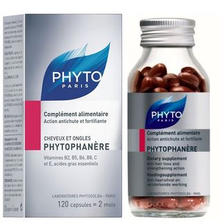Phyto Phytophanere Dietary Supplements (120 Capsules)