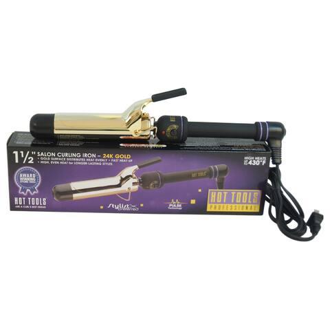 Hot Tools Professional Salon 1.5-inch Curling Iron