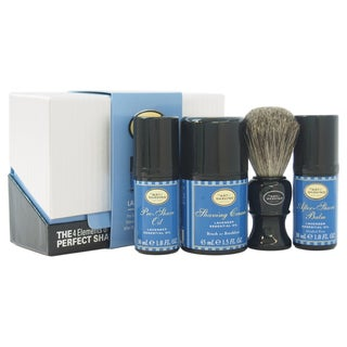 The Art of Shaving The 4 Elements of The Perfect Shave Lavender Men's 4-piece Kit