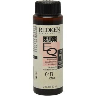 Redken Shades EQ Color Gloss 01B Onyx Women's 2-ounce Hair Color