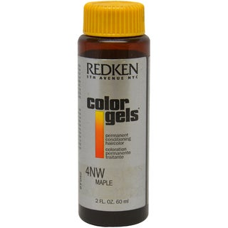 Redken Color Gels 4NW Maple Men's 2-ounce Permanent Conditioning Hair Color