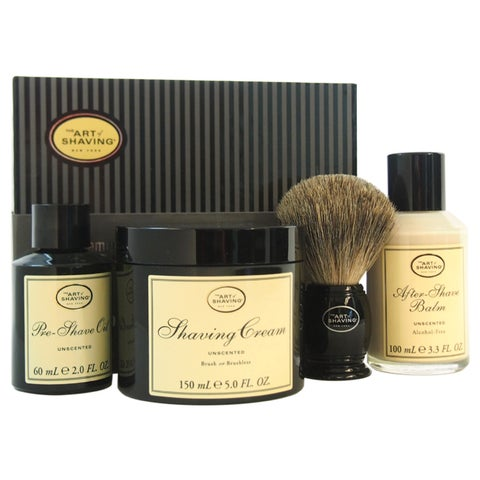 The Art of Shaving The 4 Elements of The Perfect Shave Unscented Men's 4-piece Kit