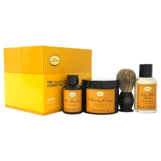 The Art of Shaving The 4 Elements of The Perfect Shave Lemon Men's 4-piece Kit