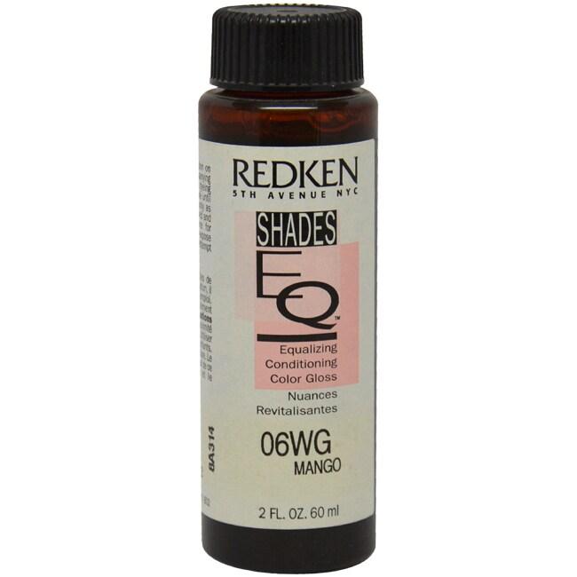 Redken Shades EQ Color Gloss 06WG Mango (Orange) 2-ounce ...