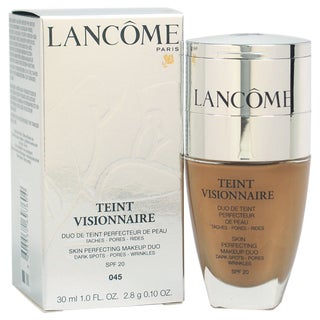 Lancome Teint Visionnaire # 045 Sable Beige Skin Perfecting Duo Foundation