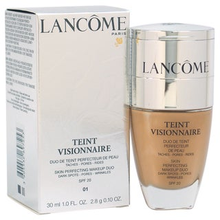 Lancome Teint Visionnaire # 01 Beige Albatre Skin Perfecting Duo Foundation
