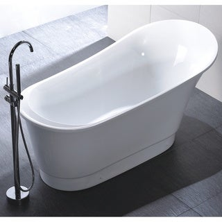 Claw foot tubs shop the best deals for apr 2017 for Best acrylic tub