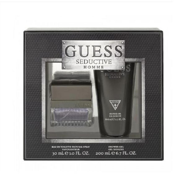 Shop Guess Seductive Homme Men s 2-piece Gift Set - Free Shipping On Orders  Over  45 - Overstock.com - 9191652 7be7864fa16