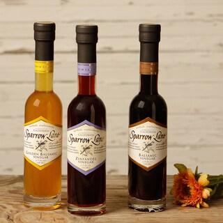Sparrow Lane California Premier 3-piece Vinegar Collection