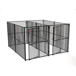 Lucky Dog European Style 2-run Dog Kennel