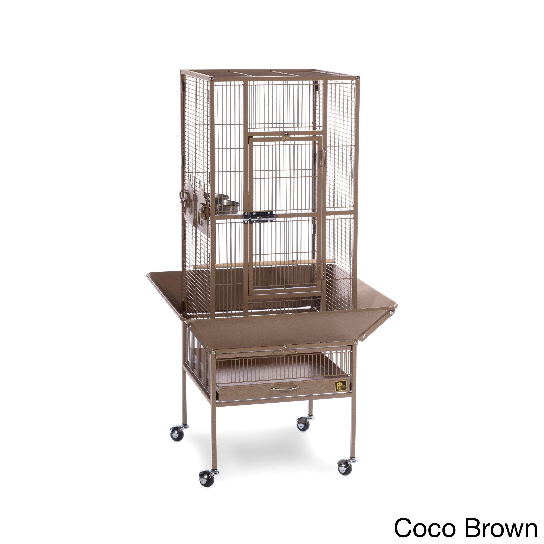 Prevue Pet Products Park Plaza Bird Cage (Cocoa), Brown