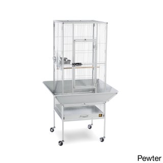 Prevue Pet Products Park Plaza Bird Cage (Option: Pewter)