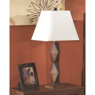 Signature Design by Ashley Natane Dark Brown Poly Table Lamps (Set of 2)