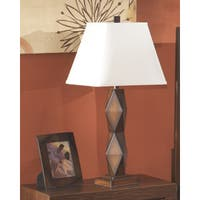 Natane Dark Brown 30 Inch Poly Table Lamps - Set of 2
