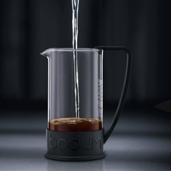 Shop Bodum Brazil French Press Coffee Maker 51oz 1 5 Liter 12 Cup Black Overstock 9192881