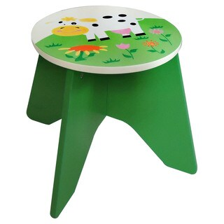 Whimsical Farm Stool
