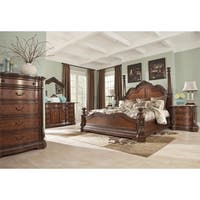 Signature Designs by Ashley Ledelle Brown Poster Bed