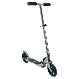 Ventura Chrome Big Wheels Mini Scooter