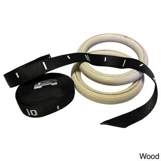 Valor Fitness Gym Training Rings (Option: Off-White)