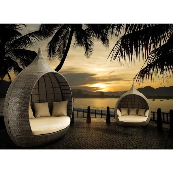 Martinique Espresso Beach Daybed