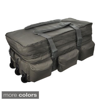 Sandpiper of California Black Rolling Loadout Bag