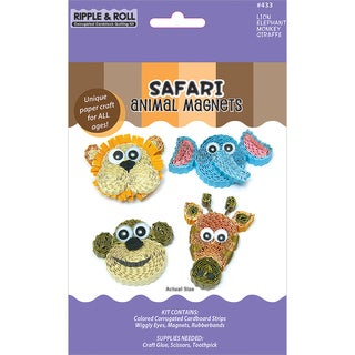 Quilling Magnet Kit-Safari