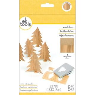 Wood Sheets 8/Pkg-5inX7in