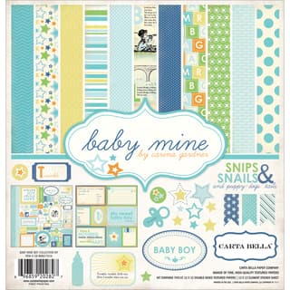Carta Bella Collection Kit 12inX12in-Baby Mine/Boy|https://ak1.ostkcdn.com/images/products/9193583/P16366540.jpg?impolicy=medium