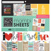 MAMBI Paper Pad 12inX12in 48/Pkg-Quoted