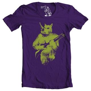 Men's Rhino Hunter Graphic Cotton T-shirt
