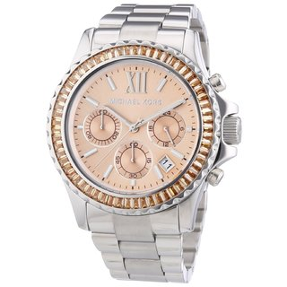 Michael Kors Womens' MK5870 Everest Chronograph Stainless Steel Watch