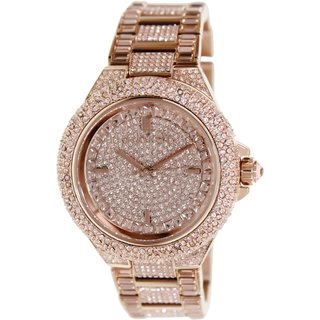 Michael Kors Women's MK5862 'Camille' Rose Gold Glitz Watch