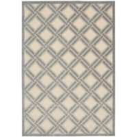 Nourison Graphic Illusions Ivory Rug