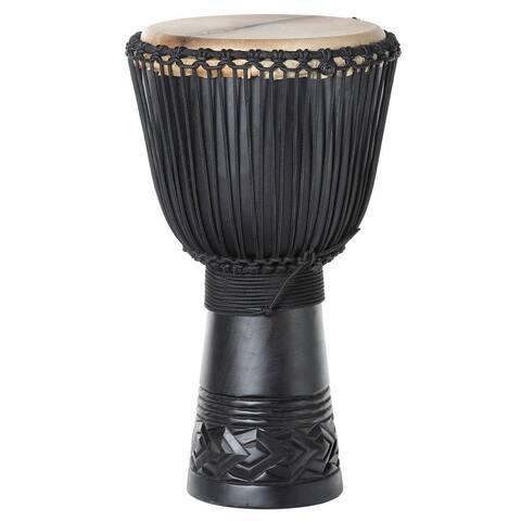 Handmade Mahogany Stallion Professional Full-size Djembe Drum (Indonesia)