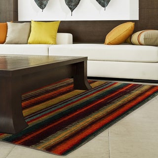 Mohawk Home New Wave Boho Stripe Area Rug (7'6 x 10')