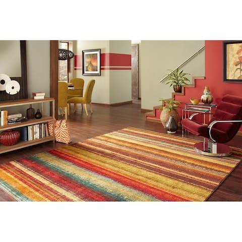 Mohawk Home New Wave Boho Stripe Area Rug