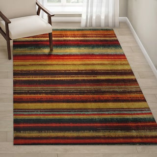 Link to Mohawk Home New Wave Boho Stripe Area Rug Similar Items in Patterned Rugs