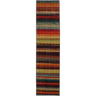 Mohawk Home New Wave Boho Stripe Runner (2' x 8')