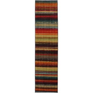 Mohawk Home New Wave Boho Stripe Runner - 2' x 8'